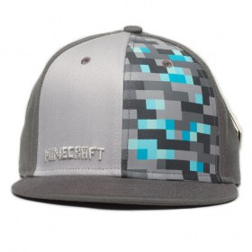 Minecraft_premium_cap_greey_diamond_2