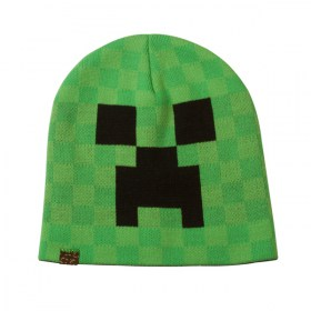 Minecraft_Creeper_Face_Beanie